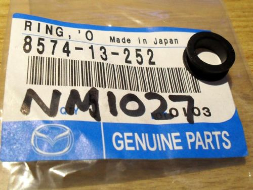 Fuel injector grommet, upper seal, genuine Mazda, MX-5 mk1, 857413252